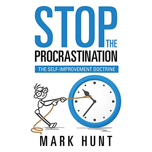 Stop the Procrastination audiobook cover art