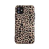 Leopard Hülle für iPhone 12 and 12 Pro Classic Luxury Fashion Schutzhülle Flexible Soft-Gel-Rückseite Shell-Gehäuse (iPhone 12/12 Pro, Leopard)
