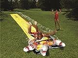 Paradies Pool Slip N Slide Wasserrutsche Bowling, Wasser-Rutschbahn für Kinder, Sommer-Badespaß, ideal für Kindergeburtstage, 5 m, Menge: 1 Stück