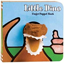 Little Dino: Finger Puppet Book: (Puppet Book for Baby, Little Dinosaur Board Book) (Little Finger Puppet Board Books)