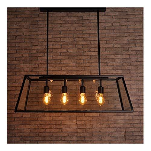 Indoor Kroonluchter Creative Bar Cafe Woonkamer Corridor Studie Kamer Restaurant Kroonluchters Eenvoudige Strijkijzer Decoratieve Lamp [Energie Klasse A +] [Energie Klasse A +]