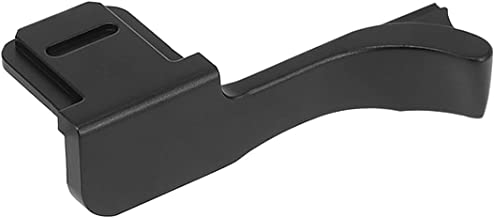 Haoge THB-M9B Metal Hot Shoe Thumb Up Rest Thumbs Up Hand Grip for Leica M9 M9-P M-E M9P ME Camera Black