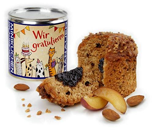 Hanauer Minikuchen Pflaume-Mandel