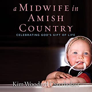 A Midwife in Amish Country audiobook cover art