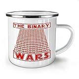 N\A Bicchieri beventi della Tazza Bianca dello Smalto di Star Wars del Programmatore Binario 11 Once