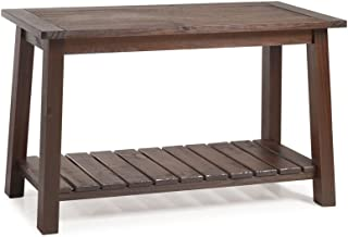 Seabrook Console Table (Rustic Brown)
