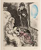 Marc Chagall Jacob blessing Joseph s sons 1956 c24815 A0