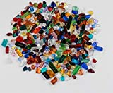 YG-ct 1 Pezzo 100g / 200g / 500g Cristallo colorato di Pietra Acquario Fondo di Sabbia Fish Tank paesaggistica Decorazione di Pietra Naturale (Taglia : 100g)