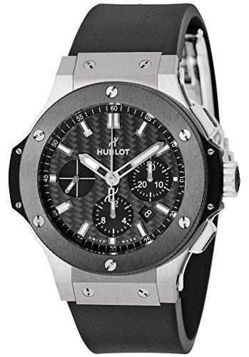 [ウブロ]HUBLOT 腕時計 ビッグバンエボリューション カーボンブラック文字盤 自動巻 301.SM.1770.RX メンズ 【並行輸入品】