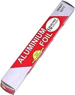 Enticerowts Feuille de cuisson en aluminium antiadhésif 5 m/10 m 10 m.