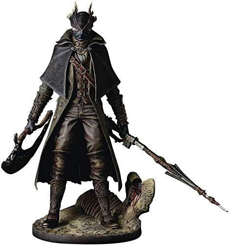 ZXLLY Bloodborne: Hunter Action Figure - Bloodborne The Old Hunters Hunter Statue PVC Figure - Scultura accurata Altamente dettagliata - Alta 12 Pollici