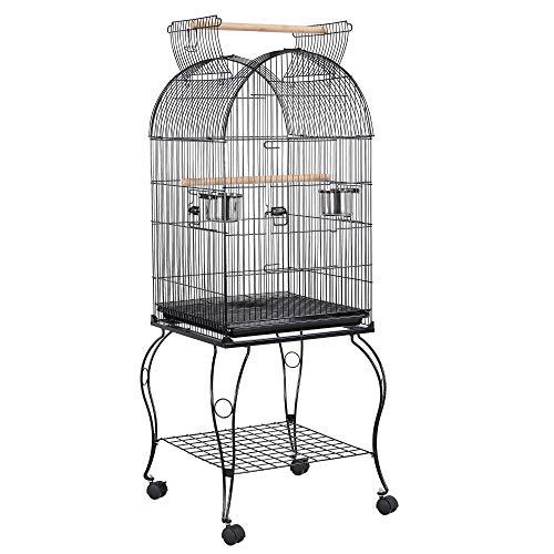 Yaheetech Large Parrot Bird Cage Cockatiel Sun Parakeet Green-Cheek Conure...