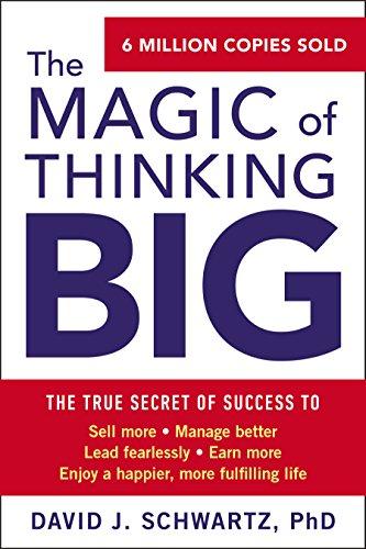 The Magic of Thinking Big (English Edition)