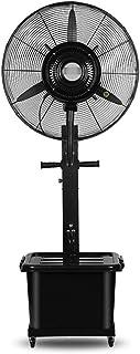 Ventilador de pie WSJ Swing Spray refrigerante de alto rendimiento multifunción 3 velocidades 10 horas capacidad 42 litros negro Ahorro de energía (tamaño: 810 mm)