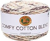 Lion Brand Yarn Comfy Cotton Blend Yarn, Chai Latte