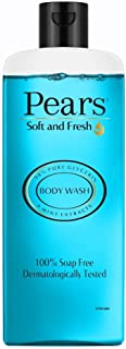 Pears Soft and Fresh Shower Gel, 250ml