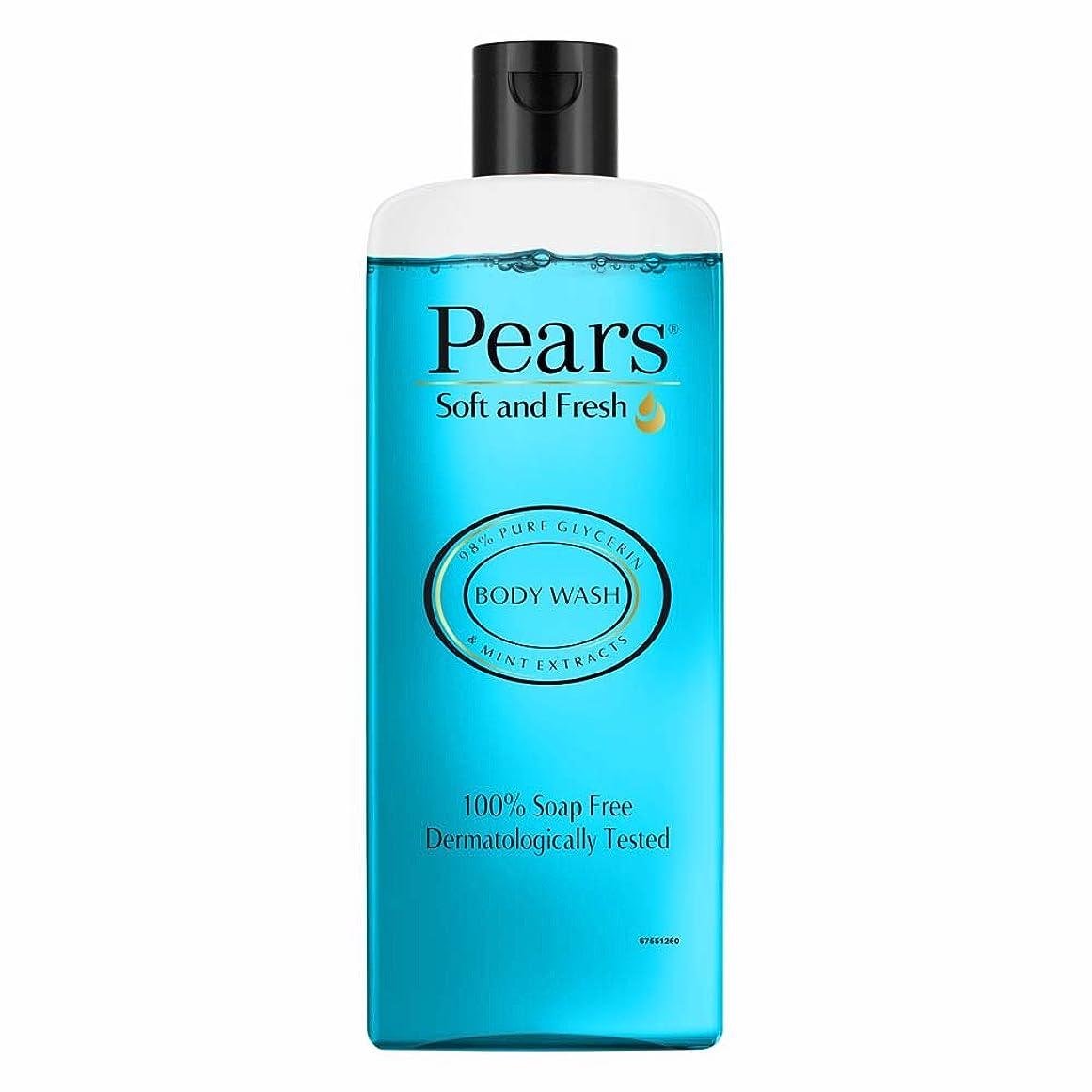 型囲むハンディPears Soft and Fresh Shower Gel, 250ml
