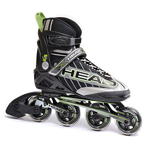 Head Inline-Skates H3, schwarz/grün, 38, H5FT03