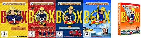 FEUERWEHRMANN SAM Box 1 2 3 4 5 Der Held von nebenan 10 DVD Pontypandy Collection