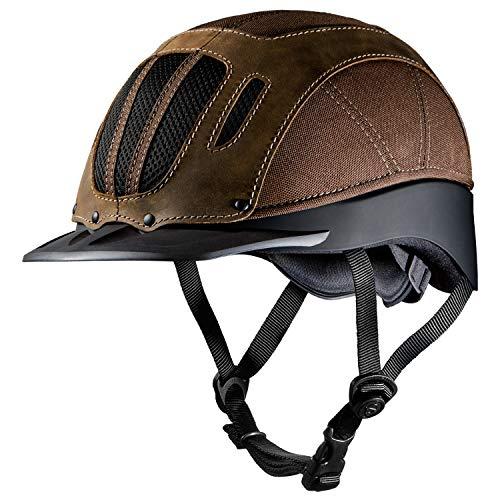 Troxel 04-369S Sierra Helmet, Brown, Small