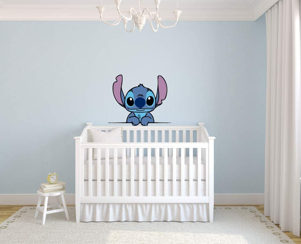 Lilo and Stitch Cute Disney Free Shipping New Character Wall Graphic Art Challenge the lowest price of Japan ☆ Sti Decal