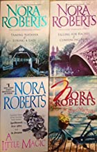 Nora Roberts Set of 4 (By My Side, A Little Magic, Falling for Rachel & Convincing Alex, Taminy Natasha & Luring A Lady)