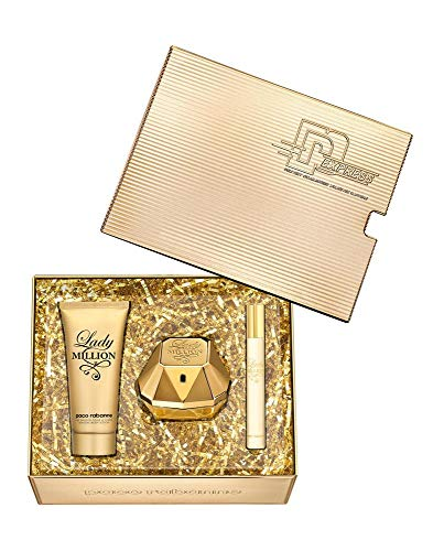 LADY MILLION EDV-SPRAY 80ML + 100ML + BODY LOTION 10ML EDT
