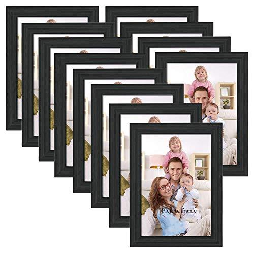 ArtzFolio Wall Photo Frame Black 4x6inch;Set of 12 PCS
