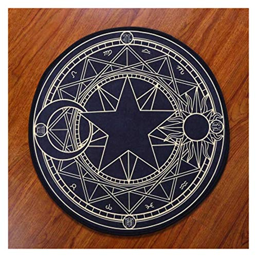 Pink Purple Carpets for Living room 100cm Round Bedroom Carpet Cartoon rug pad Computer Chair Mats alfombra large rugs rug for living room bedroom accessories (Color : Y0H004, Size : 100cm)