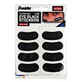 Franklin Sports Customizable Lettering Baseball and Football Eye Black Stickers, White Pencil Included