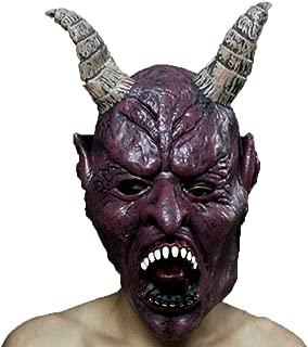 WNGCAR AU Halloween Mask Horn King Wig Masquerade Party