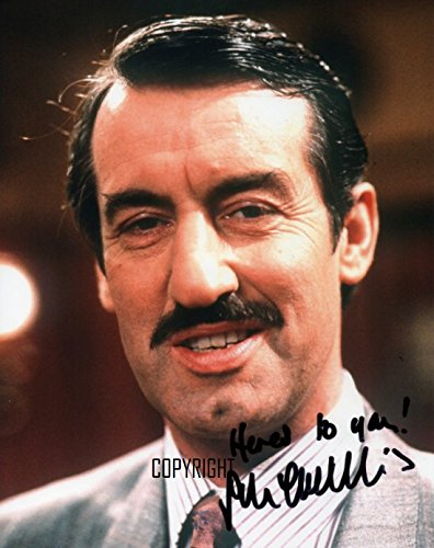 John Challis as Boycie signed photo