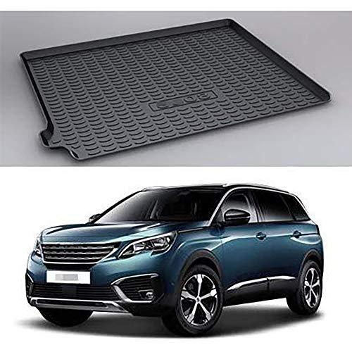 Voiture Tapis de coffre Protection anti-dérapants Tapis Interior Accessories, pour Peugeot 5008 2017-2021