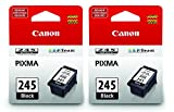 Canon Ink cFNpY Cartridge, Black PG-245 (2 Pack)