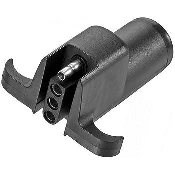 Amazon Com Pollak 12 717ep 6 Way Round Pin To 4 Way Flat Adapter Automotive