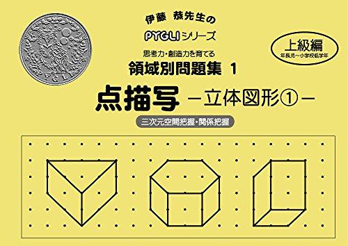 領域別問題集01 点描写立体図形1(ピグマリオン PYGLIシリーズ 小学校入試対策) (ピグリシリーズ)