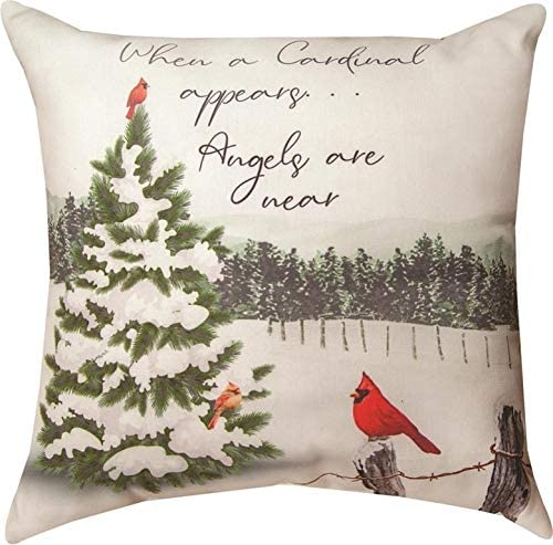Manual Woodworker Pillow-When A Cardinal Near Angels are Appears 人気激安 大放出セール