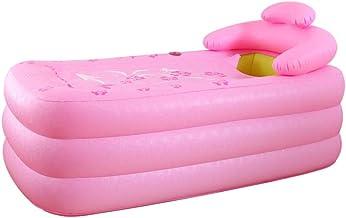 Opblaasbare badkuip, plastic draagbare volwassen dubbele bad, baby zwembad, warm, vrijstaand bad, non-slip vouwen reizen, ...