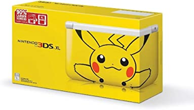 Nintendo 3DS XL - Yellow Pikachu [video game]