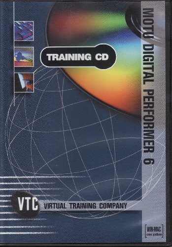 MOTU Digital Performer 6 VTC Training CD