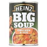 Heinz Gran sopa de pollo y verduras 12 x 400g