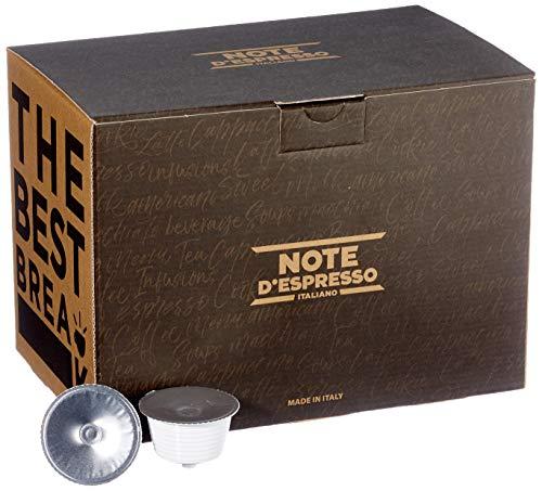 Note d'Espresso Italiano - Cápsulas de gazpacho, 14g (caja de 30 unidades) Compatibles con cafeteras de cápsulas Nescafé* y Dolce Gusto*