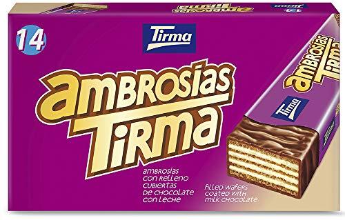 Tirma Ambrosías (14 Unidades X 21,5G) G Chocolate con Leche 301 Gramos