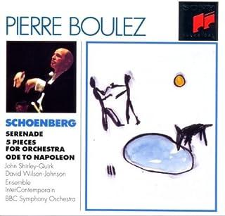 Schoenberg;Serenade/5 Piece