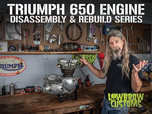 Triumph 650 Motorcycle Engine Disassembly & Rebuild - Sludge Trap