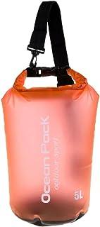 MagiDeal Woman Ultralight Waterproof Storage Dry Bag for Kayaking Canoeing Accessory - Orange, 5L
