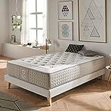Dreaming Kamahaus Elite Colchón, con Viscografeno-Soft, Blanco, 150x190