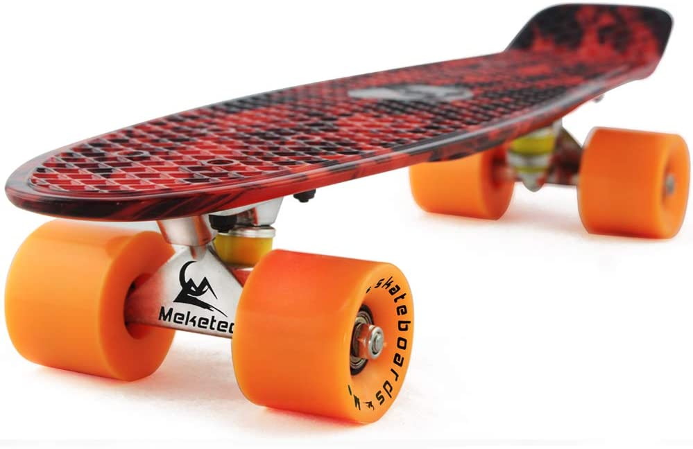 Skateboards Super popular specialty store Complete 22 Safety and trust Inch Mini Skateboard Retro K for Cruiser