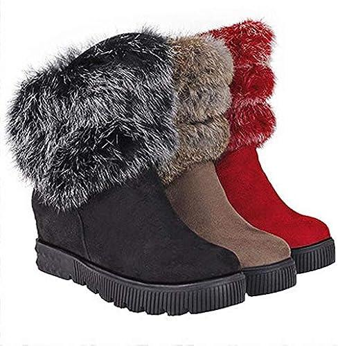 XQY Damenstiefel - Mode Stiefel Winter Plus Plus Plus SAMT Warme Baumwollstiefel Schneestiefel   34-43  Direkt ab Werk und schnelle Lieferung