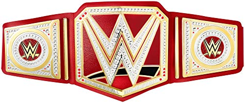 Mattel WWE-Cinturón Universal Champion, Juguetes niños +8 años, Multicolor FLB10
